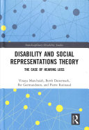 Disability and Social Representations Theory PDF