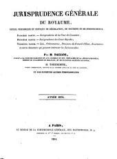 Recueil critique de jurisprudence et de législation: Volume1834