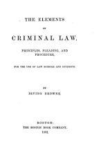 The Elements of Criminal Law PDF