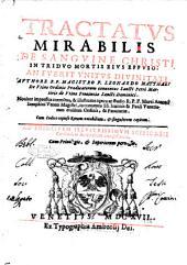 Tractatus mirabilis de sanguine Christi in triduo mortis eius effuso: an fuerit vnitus diuinitati authore r.p. magistro f. Leonardo Matthaei de Vtino Ordinis Prædicatorum ..