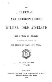 The Journal and Correspondence of William, Lord Auckland: Volume 3
