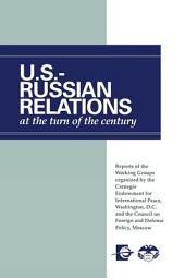 Российско-америйканские Отношения На Рубеже Веков