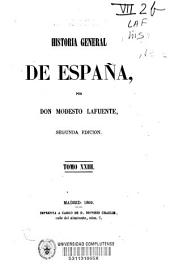 Historia general de España: Volumen 23