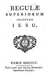Regulae superiorum Societatis Jesu