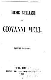 Poesie siciliane: Volume 2