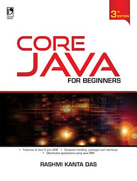 Core Java for Beginners  3rd Edition PDF