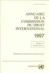 Annuaire de la Commission du Droit International 1997