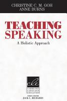 Teaching Speaking PDF