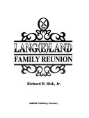 Download Lang e land Family Reunion Book