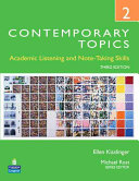 Contemporary Topics 2 Student Book with Streaming Video Access Code Card PDF