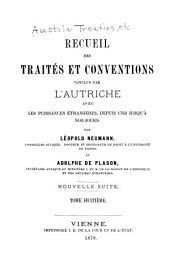 Recueil des traités: Volumes 14-15