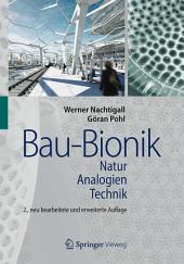 Bau-Bionik: Natur - Analogien - Technik, Ausgabe 2