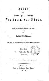 Leben des Oberpräsidenten Freiherrn von Vincke: Nach seinen Tagebüchern, Band 1