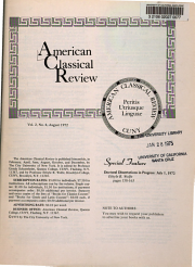 American Classical Review