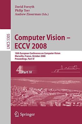 Computer Vision   ECCV 2008 PDF