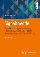 Signaltheorie PDF