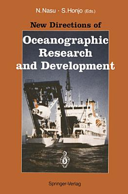 New Directions of Oceanographic Research and Development PDF