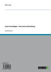 Technische Grundlagen des Linux-Betriebssystems.Ein Überblick