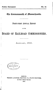 Annual Report [Including Returns of Railway Companies]