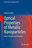 Optical Properties of Metallic Nanoparticles PDF