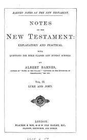 Notes, explanatory and practical, on the New Testament. ed. by R. Frew: Volume 2
