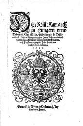 Reformation und Verbesserung der jüngst vom 62. auch 85. Jahr publicierten Infections-Ordnung
