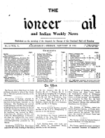 The Pioneer Mail and Indian Weekly News PDF