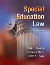 Special Education Law: Edition 3