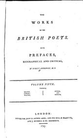 The Works of the British Poets. With Prefaces: Volume 5