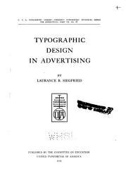 Typographic Design In Advertising