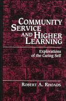 Community Service and Higher Learning PDF