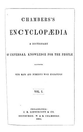 Chambers s Encyclopaedia  A Belgiojoso PDF
