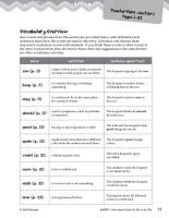 Put Me in the Zoo Vocabulary Activities PDF