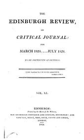 The Edinburgh Review: Or Critical Journal, Volume 40