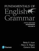 Fundamentals of English Grammar Workbook a with Answer Key  5e PDF