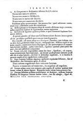 Francisci Vietae In artem analyticem isagoge seorsim excussa ab Opere restitutae mathematicae analyseos, seu Algebra noua