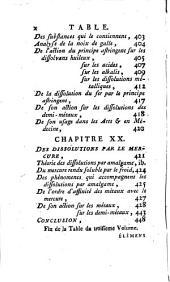 Élémens de chymie théorique et pratique, rédigés dans un nouvel ordre, d'après les découvertes modernes, pour servir aux cours publics de l'Académie de Dijon: Volume3