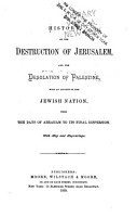 History of the Destruction of Jerusalem  and the Desolation of Palestine PDF