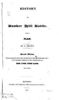 History of Bunker Hill Battle PDF