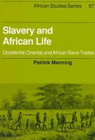 Slavery and African Life PDF