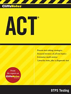 CliffsNotes ACT Book