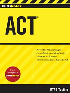 CliffsNotes ACT Book