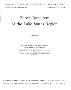 Forest Resources of the Lake States Region