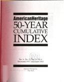 American Heritage 50 year Cumulative Index PDF