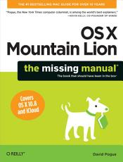 OS X Mountain Lion  The Missing Manual PDF