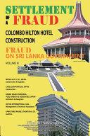 SETTLEMENT OF A FRAUD COLOMBO HILTON HOTEL CONSTRUCTION