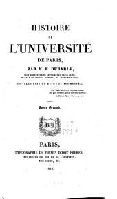 Histoire de l'Université de Paris: Volume2