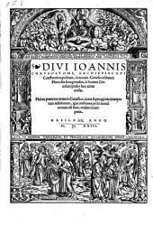 In totum Geneseos librum homiliae sexagintasex a Joanne Oecolampadio versae. Habes praeterae textum Geneseos, juxta septuaginta interpretum aeditionem ..