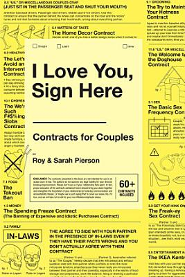 I Love You  Sign Here PDF