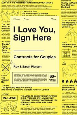 I Love You  Sign Here PDF